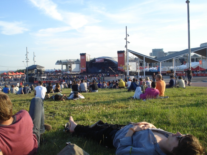 View of the main stage at Primavera