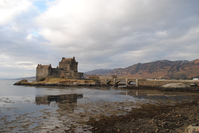 Eilean Donan castle, on the drive to Ullapool