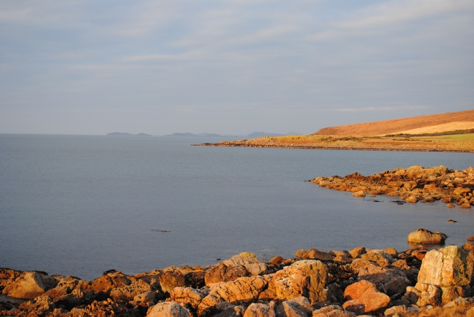 Evening sun on Wester Ross coast