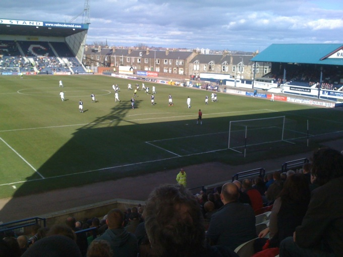 Raith v Celtic, Ronnie Coyle benefit match, Stark's Park