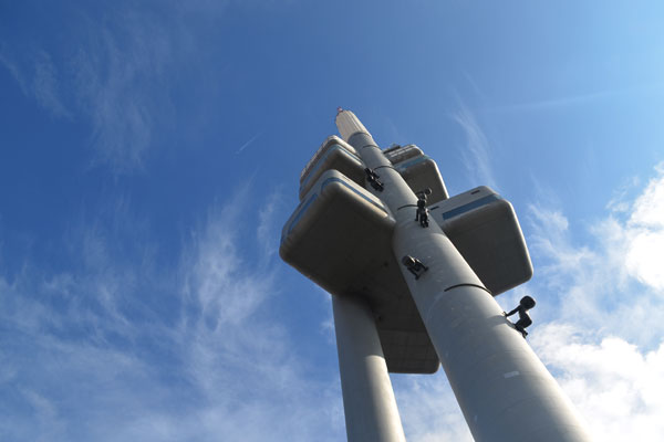 Zizkov TV tower